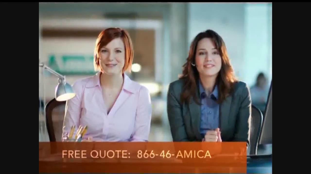 amica insurance commercial actress. Black Bedroom Furniture Sets. Home Design Ideas