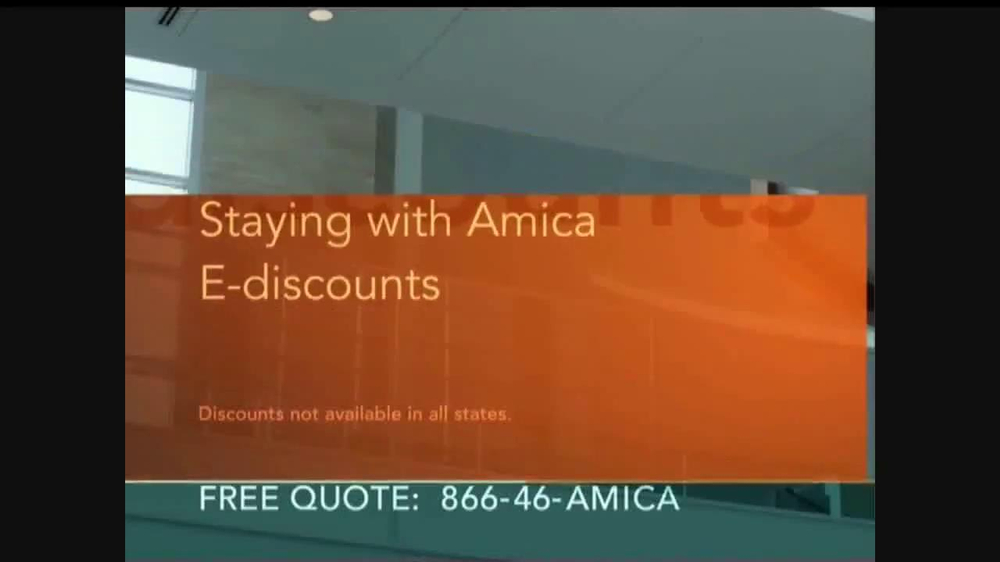 Amica mutual insurance company tv commercial 39 demands for Is amica insurance good