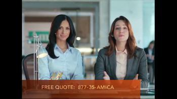 Amica Mutual Insurance Company TV Spot, 'Expectations'