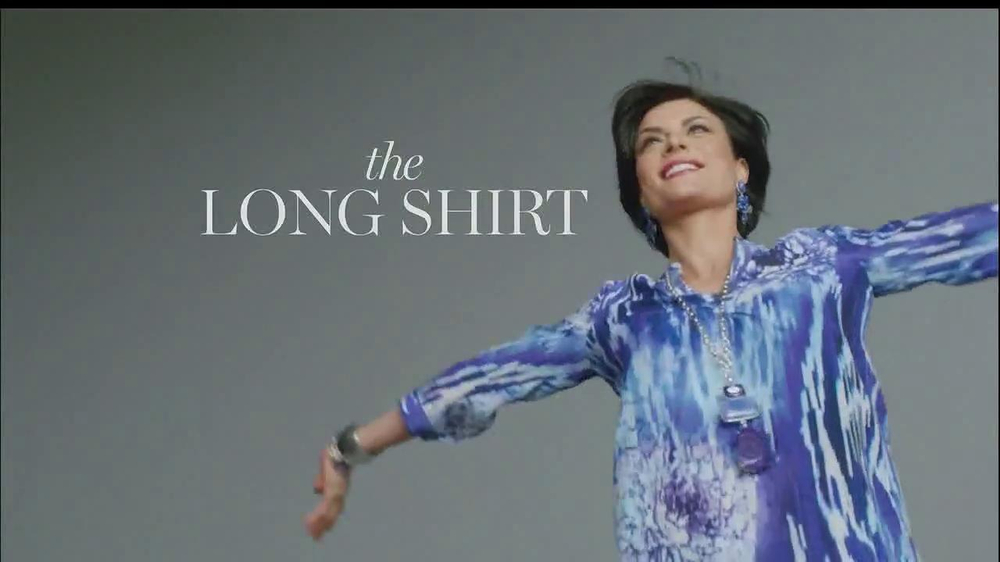 Chico's The Long Shirt TV Spot - Screenshot 5