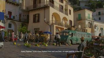 Dove Dark Chocolate TV Spot, 'Audrey Hepburn' - Thumbnail 1