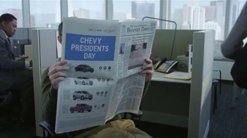 Chevrolet President's Day TV Spot, 'Suerte' [Spanish]