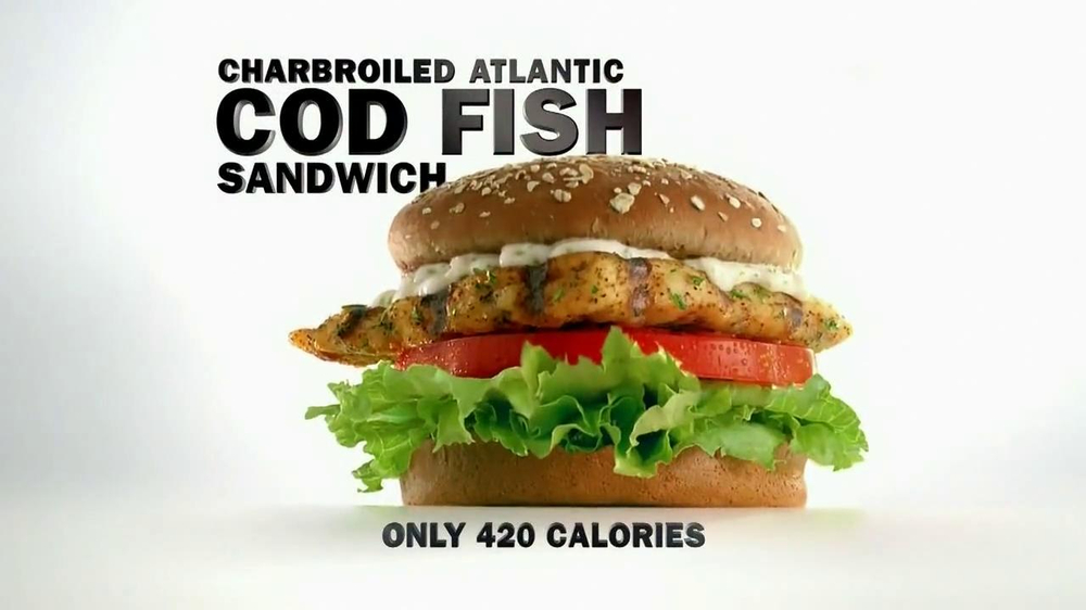 carl 39 s jr cod fish sandwich model