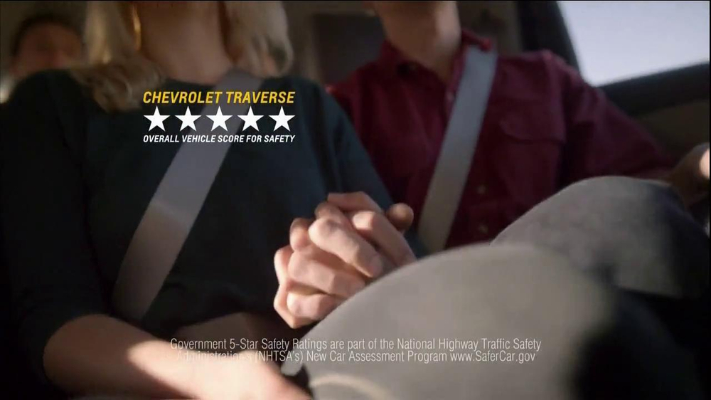 Chevrolet Traverse TV Spot, 'The New US' - Screenshot 10