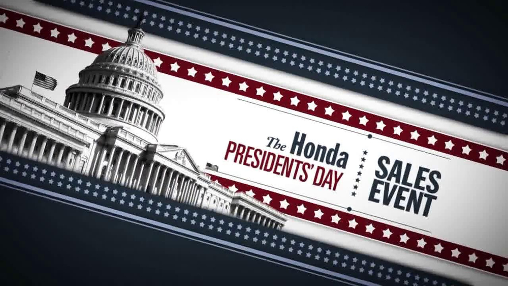 Honda TV Spot, 'President's Day Sales Event' - Screenshot 2