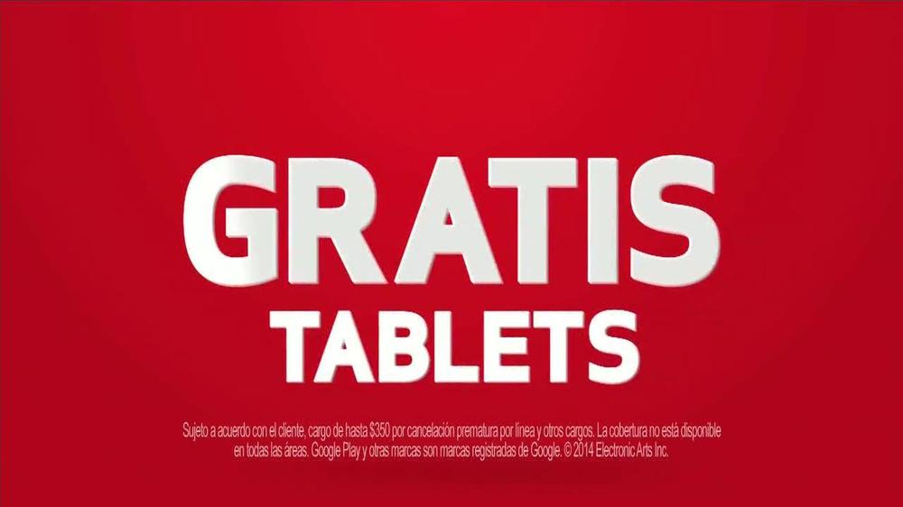 Verizon TV Commercial, ' Teléfonos y Tablets Gratis