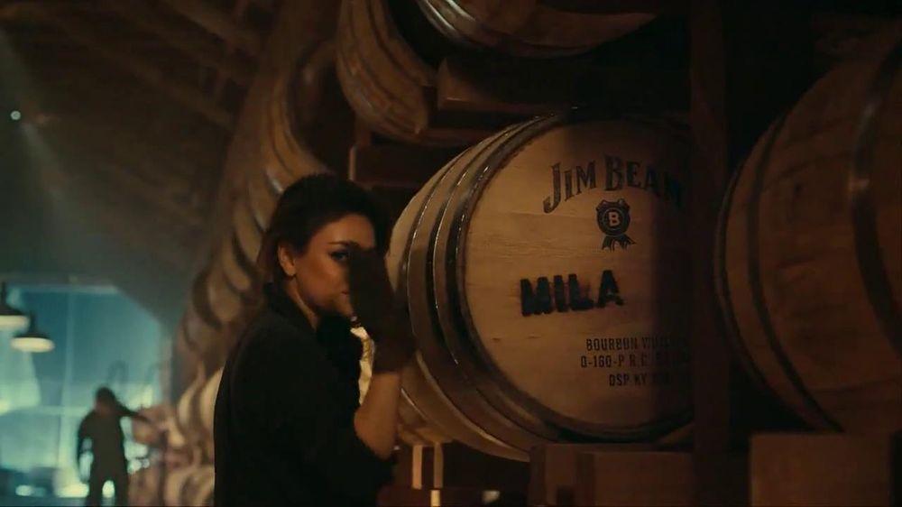 Jim Beam TV Spot, 'Make History' Featuring Mila Kunis - Screenshot 10