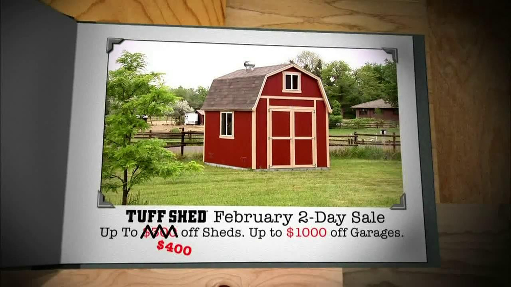 Tuff shed prices for storage sheds installed garages for Tough shed sale