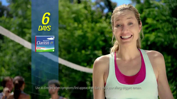 Claritin Non-Drowsy TV Spot, 'Volleyball' thumbnail