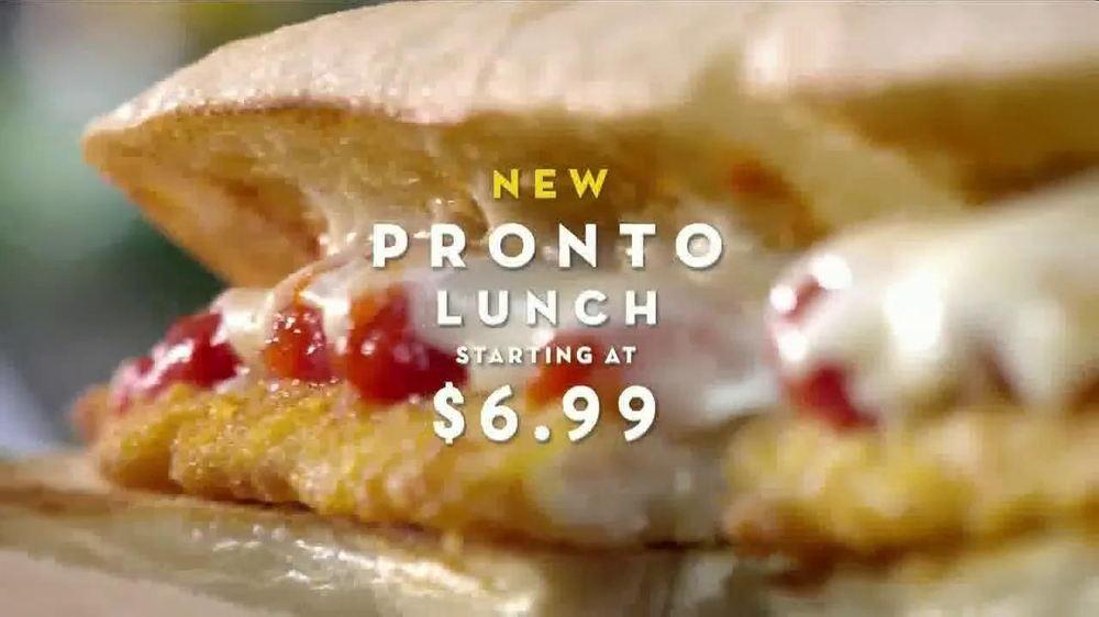Olive garden pronto lunch tv commercial 39 new menu 39 Does olive garden have take out