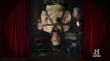Capital One Quicksilver TV Spot, 'Houdini' thumbnail