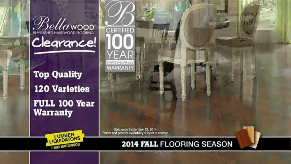 Lumber liquidators bellawood clearance tv commercial for Bellawood bolivian rosewood