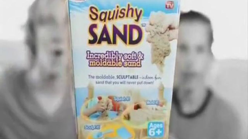 Squishy Sand TV Commercial,  Play Indoors!  - iSpot.tv