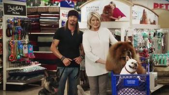 PetSmart TV Spot, 'Inspiration' Featuring Martha Stewart, Bret Michaels