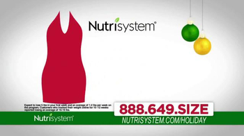 Nutrisystem TV Spot, 'Lose Weight Just In Time For the Holidays'  thumbnail