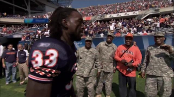 USAA TV Spot, 'Salute to NFL Player Service' thumbnail