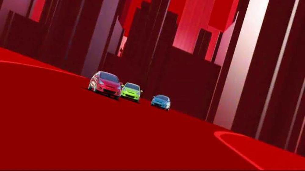 2014 Mitsubishi Mirage TV Spot, 'Vibrant Colors' - Screenshot 4