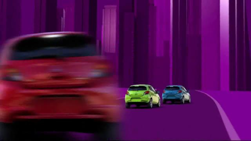 2014 Mitsubishi Mirage TV Spot, 'Vibrant Colors' - Screenshot 5