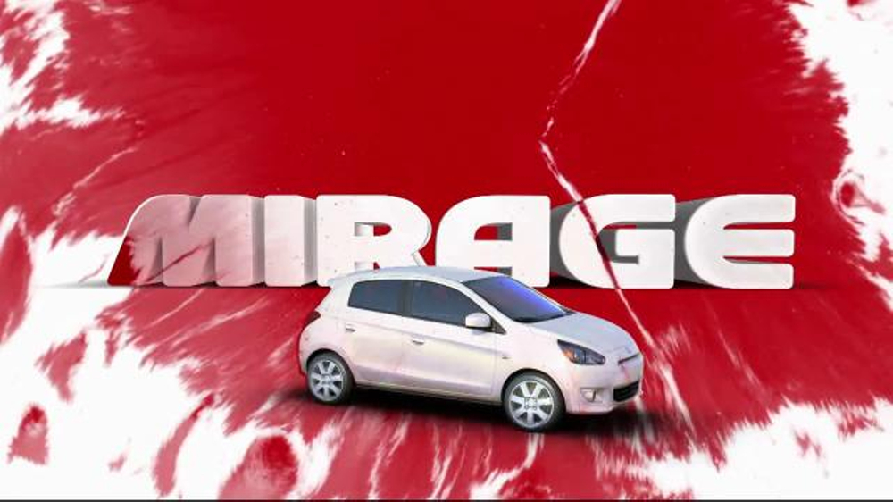 2014 Mitsubishi Mirage TV Spot, 'Vibrant Colors' - Screenshot 6