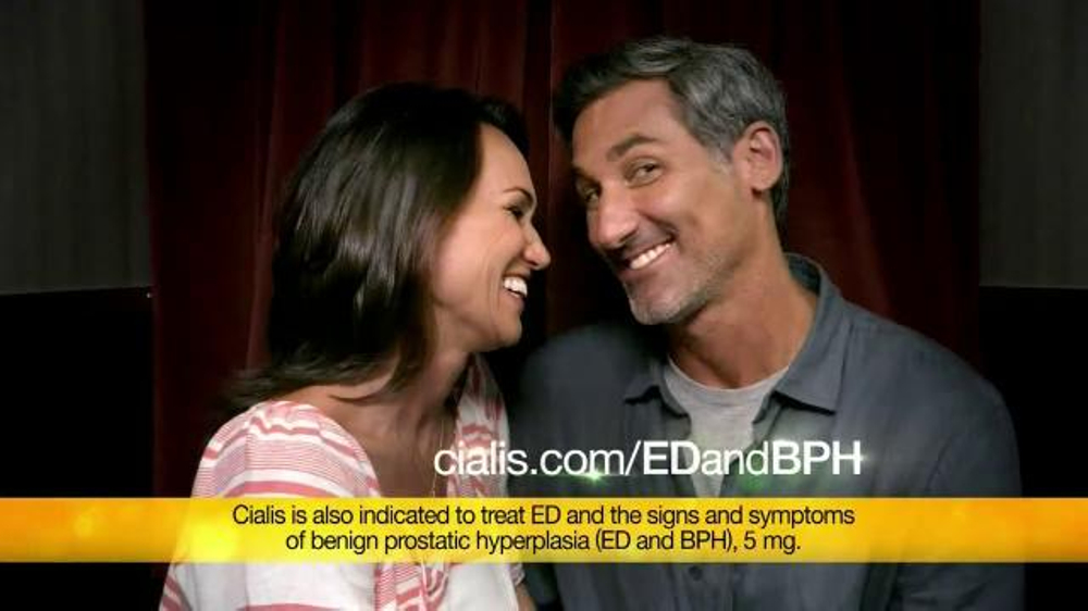 Cialis commercial actors
