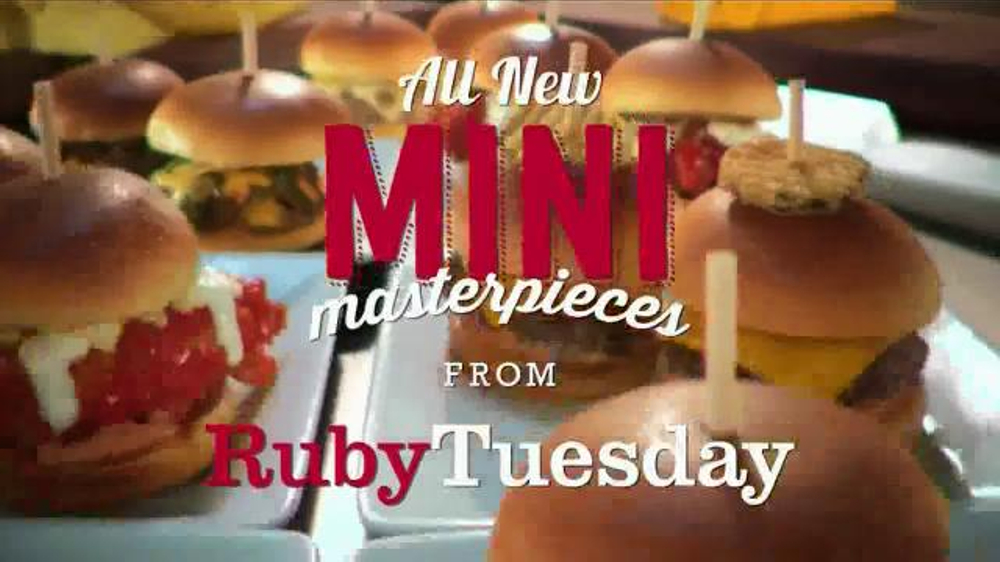 Ruby Tuesday Mini Masterpieces Tv Spot Ispot Tv