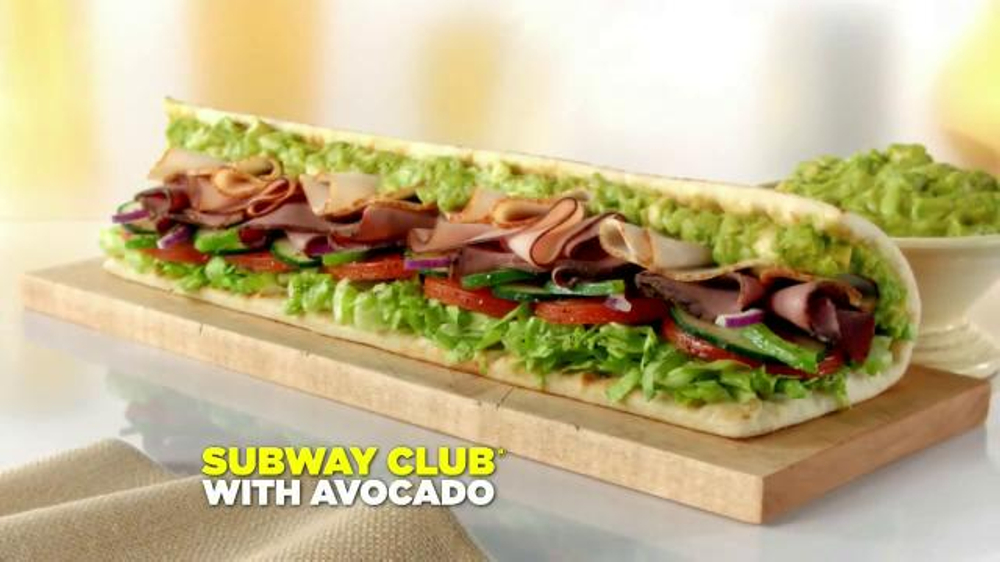 Subway Club with Avocado TV Spot, 'Ode to the Subway Club with Avocado' - Screenshot 10