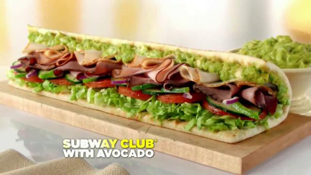 Subway Club with Avocado TV Spot, 'Ode to the Subway Club with Avocado' - Screenshot 9