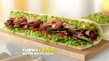 Subway Club with Avocado TV Spot, 'Ode to the Subway Club with Avocado' - Thumbnail 9