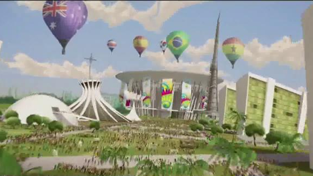 2014 FIFA World Cup TV Spot, 'Official TV Opening' - Screenshot 3