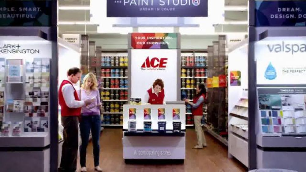 ACE Hardware Paint Studio TV Spot, 'Helpful is Beautiful-Clark+Kensington'