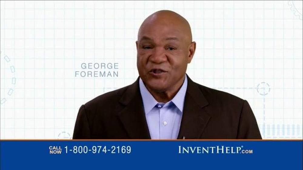 InventHelp TV Spot Featuring George Foreman - Screenshot 1