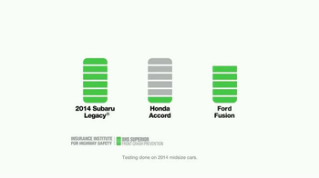 Subaru TV Spot, 'Subaru EyeSight: A Life of Safety' - Thumbnail 8
