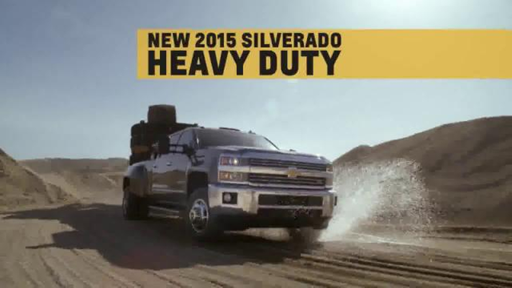 2015 Silverado Heavy Duty TV Spot, 'Best-in-Class Towing' - Screenshot 4
