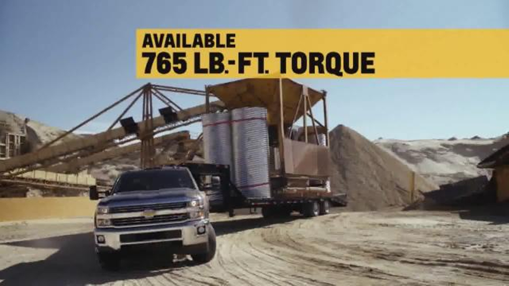 2015 Silverado Heavy Duty TV Spot, 'Best-in-Class Towing' - Screenshot 6