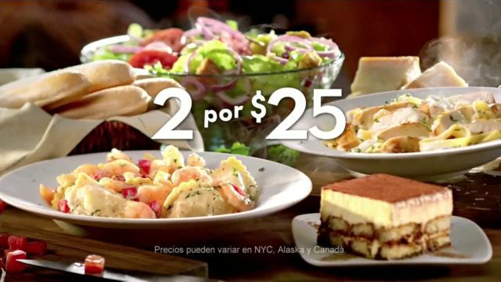 Olive Garden  Tv Commercial Platos Favoritos