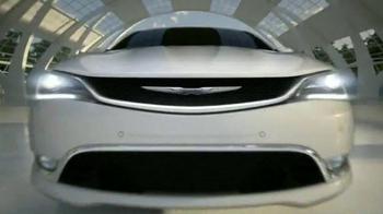 2015 Chrysler 200 TV Spot, 'Born Makers' Song by MoZella