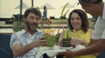 Booking.com TV Spot, 'Booking Tropical Beverages' thumbnail