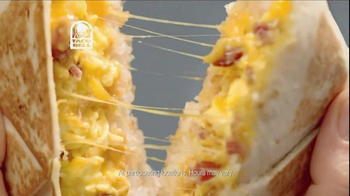 Taco Bell A.M. Crunchwrap Supreme TV Spot, 'On The Inside That Matters' thumbnail