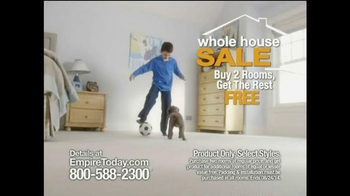 Empire Today Whole House Sale TV Spot, 'Soccer' - 7248 commercial airings