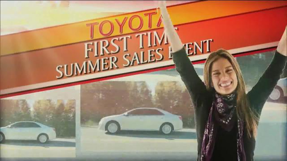 Toyota First Time Sales Event TV Spot, Song by Foreigner - Screenshot 3