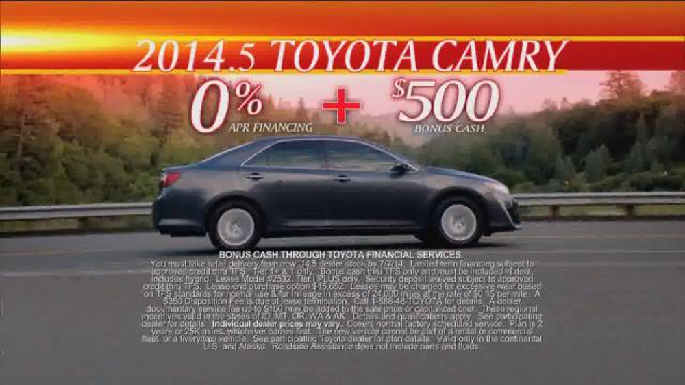 Toyota First Time Sales Event TV Spot, Song by Foreigner - Screenshot 5