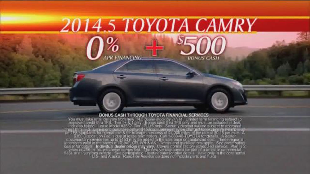 Toyota First Time Sales Event TV Spot, Song by Foreigner - Screenshot 6