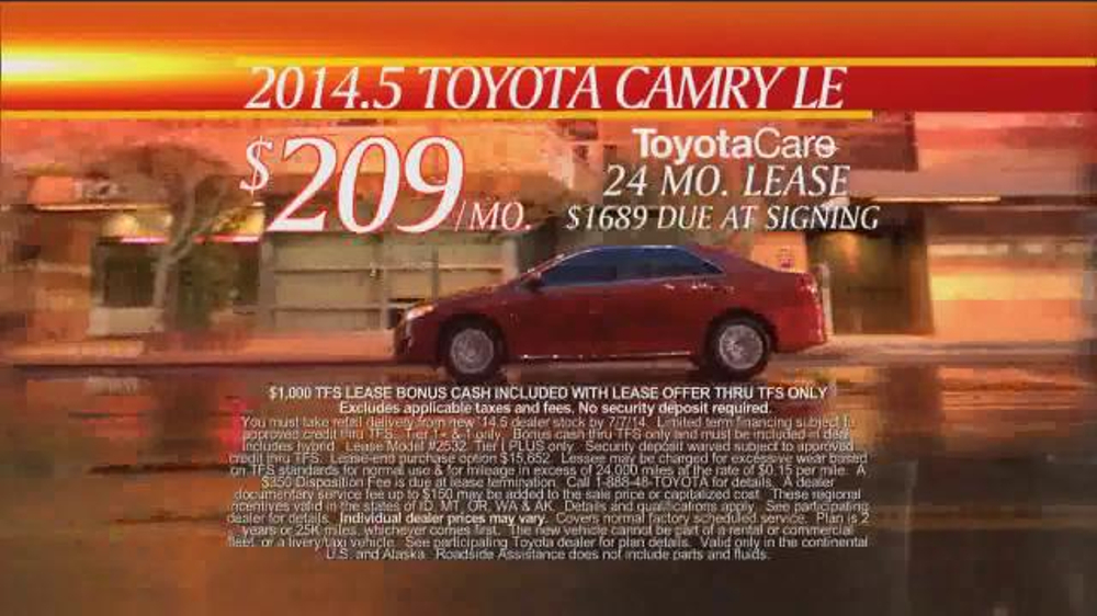 Toyota First Time Sales Event TV Spot, Song by Foreigner - Screenshot 7