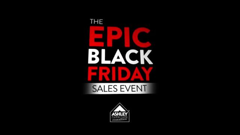 Ashley Furniture Homestore Epic Black Friday Sales Event