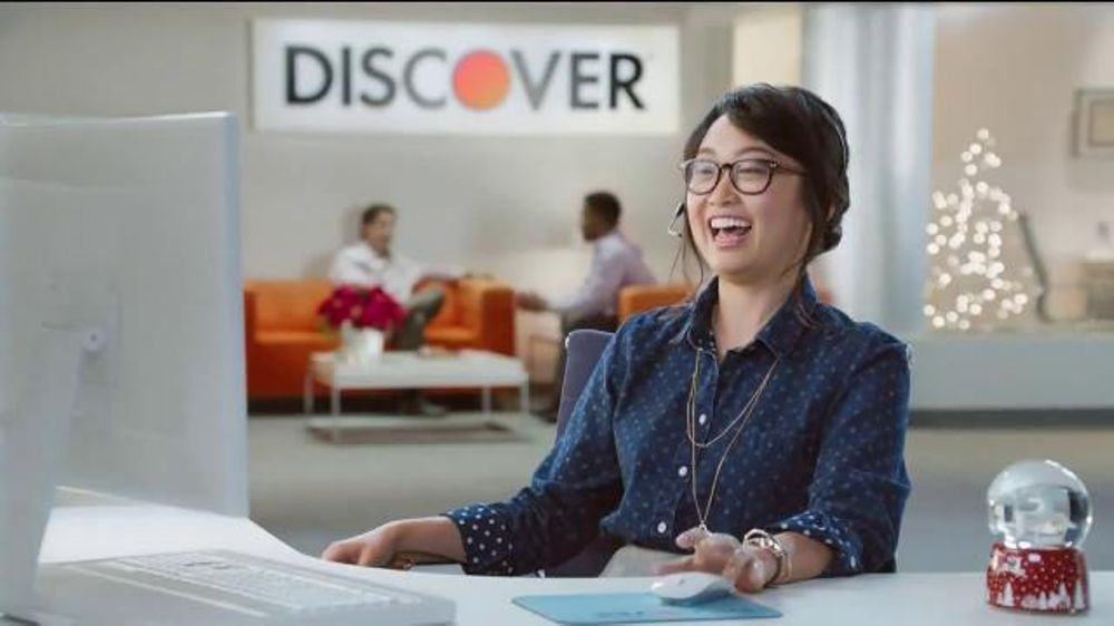Asian Girl From Discover Card Commercial