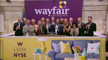 Wayfair TV Spot, 'NYSE Listed'