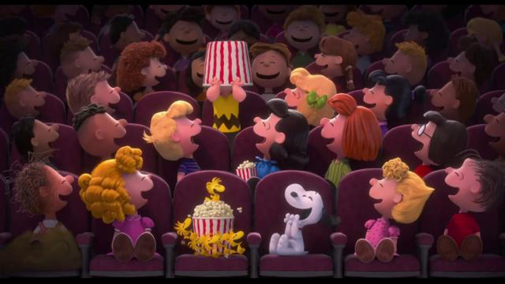 The Peanuts Movie - 88 commercial airings