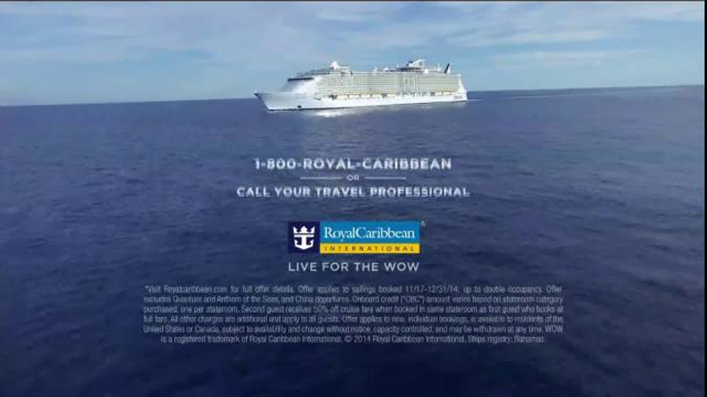 22 2018 Royal Caribbean Cruise Advert  Punchaoscom