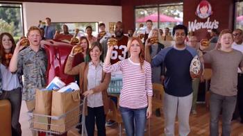 Wendy's Bacon Portabella Melt TV Spot, 'Earned It'