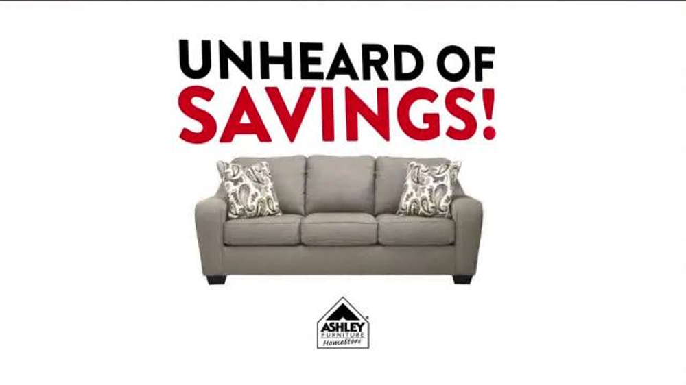 Ashley Furniture Homestore Black Friday Preview Sale Tv Commercial 39 Unheard Of 39